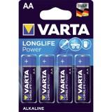 Setje van 4 x AA Varta alkaline batterijen - LongLife Power - 4906
