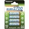Set van 4 x AA Panasonic batterijen - speciaal voor flitsers