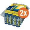 Voordeelpak met 48 x AA Varta High Energy alkaline batterijen