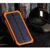 Powerbank externe accu - Extra Power - Solar - 20.000mAh - Oranje