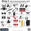 Pro-Mounts 53 in 1 Accessoire Kit voor GoPro en andere Actioncams